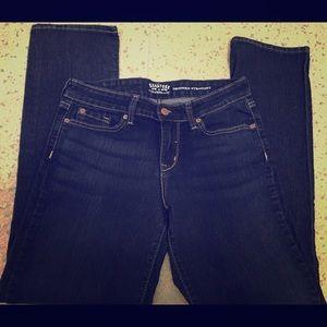 Levi's Dark Wash Modern Straight Jeans 28/32